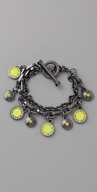 Marc by Marc Jacobs Classic Marc Charm Bracelet