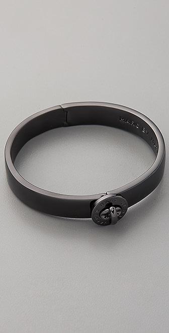 Marc by Marc Jacobs Turnlock Metal Hinge Bracelet