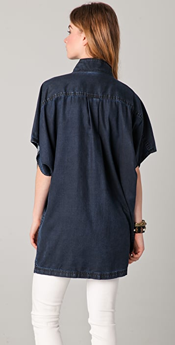 Marc by Marc Jacobs Cecil Chambray Blouse
