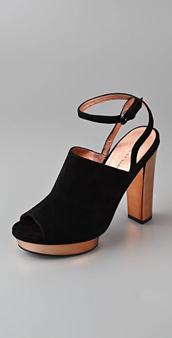 Marc by Marc Jacobs Upfront Suede Platform Sandals