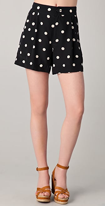 Marc by Marc Jacobs Hot Dot Print Shorts