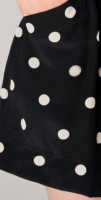 Marc by Marc Jacobs Hot Dot Print Shorts