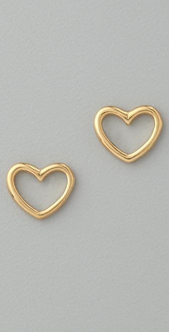 Marc by Marc Jacobs Love Edge Love Stud Earrings