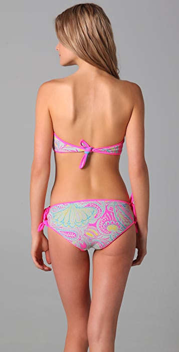 Marc by Marc Jacobs Mona Paisley Reversible Bandeau Top
