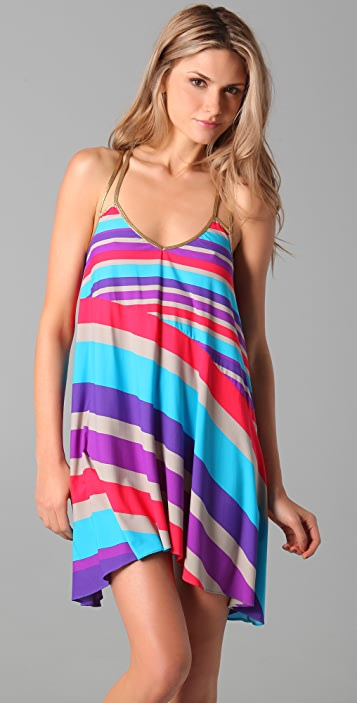 Marc by Marc Jacobs Merida Striped Cover Up Dress