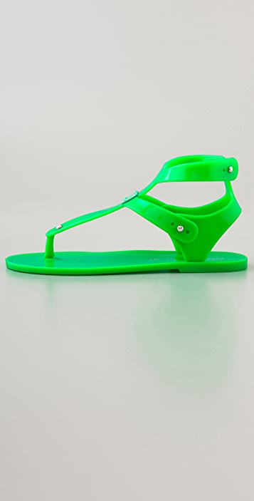 Marc by Marc Jacobs Jelly Thong Sandals