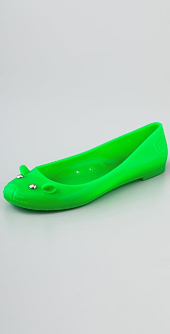 Marc by Marc Jacobs Jelly Mouse Flats