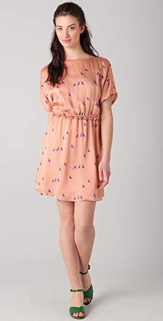 Marc by Marc Jacobs Finch Charm Print Dress