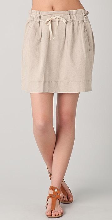 Marc by Marc Jacobs Cal Linen Skirt