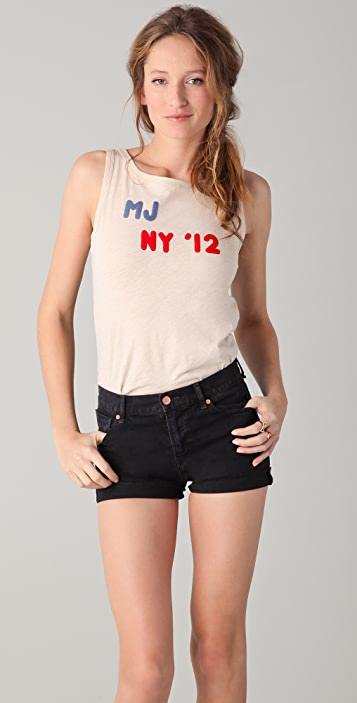 Marc by Marc Jacobs Felted MJ Tank Top