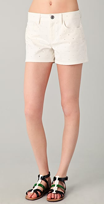 Marc by Marc Jacobs Dazzle Denim Shorts