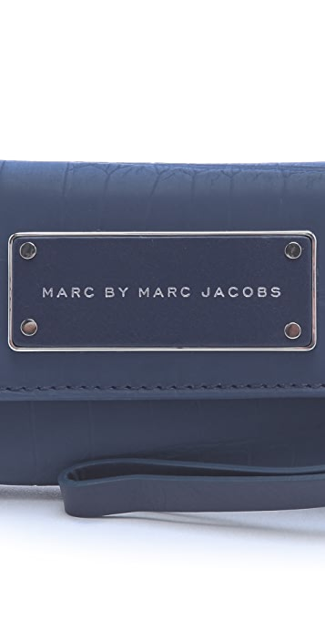 Marc by Marc Jacobs Rubber Croc Phone Wallet