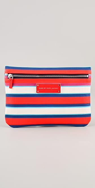 Marc by Marc Jacobs Jacobsen Stripe Cosmetic Pouch