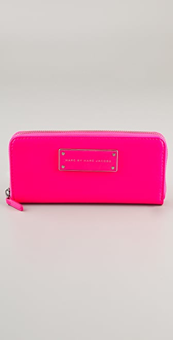 Marc by Marc Jacobs Take Me Slim Zip Wallet