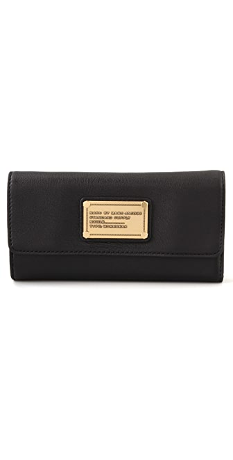 Marc by Marc Jacobs Classic Q Trifold Wallet