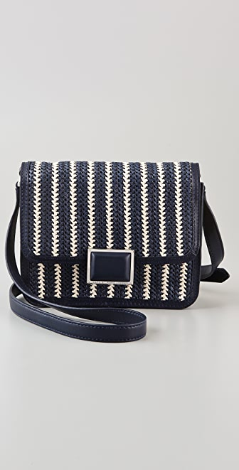 Marc by Marc Jacobs Stripey Straw Jane's Friend Elaine Bag
