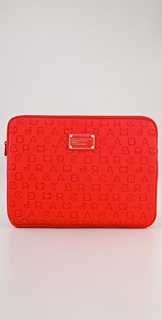 "Marc by Marc Jacobs Dreamy Logo 13"" Computer Case"