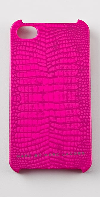 Marc by Marc Jacobs Croc iPhone Case
