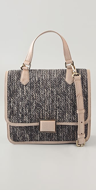 Marc by Marc Jacobs Solid Straw Top Handle Bag