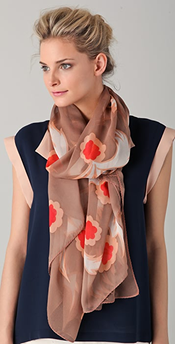 Marc by Marc Jacobs Highlighter Blossom Scarf