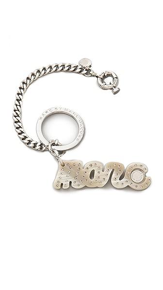 Marc by Marc Jacobs Marc Script Bag Charm / Keychain