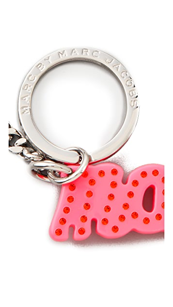 Marc by Marc Jacobs Marc Script Bag Charm / Keychain
