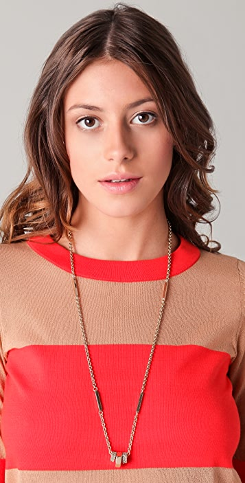 Marc by Marc Jacobs Pipe Dreams Bolt Necklace