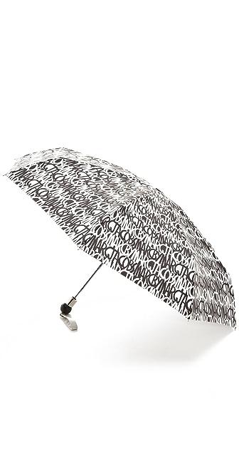 Marc by Marc Jacobs Linear Logo Umbrella