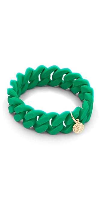 Marc by Marc Jacobs Rubber Turnlock Bracelet