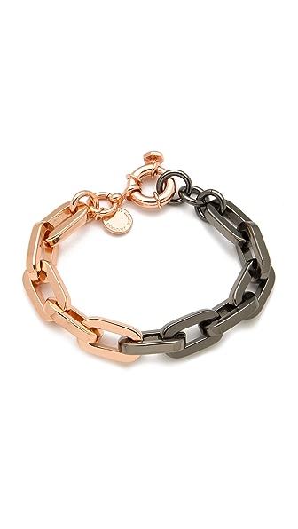 Marc by Marc Jacobs Mini Links Bicolor Link Bracelet