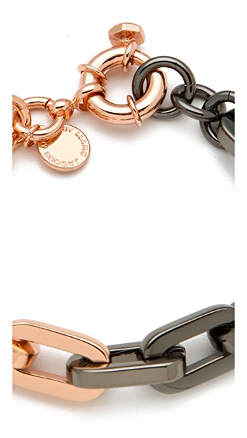 Marc by Marc Jacobs Mini Links Bicolor Link Bracelet