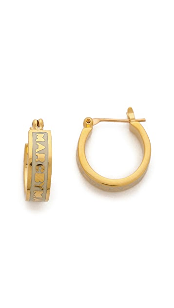 Marc by Marc Jacobs Huggie Hoops