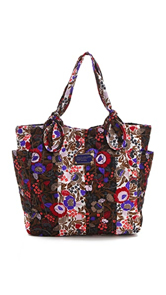Marc by Marc Jacobs Pretty Nylon Wallpaper Floral Medium Tote
