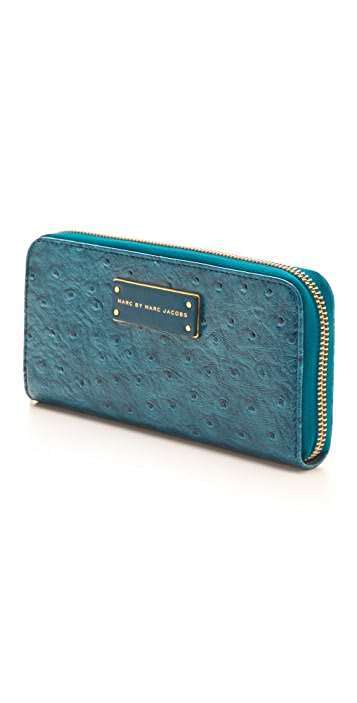 Marc by Marc Jacobs Take Me Ozzie Slim Zip Around Wallet