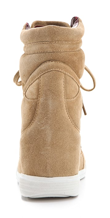 Marc by Marc Jacobs Standard Supply Suede Wedge Sneakers