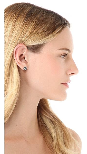Marc by Marc Jacobs Turnlock Stud Earrings
