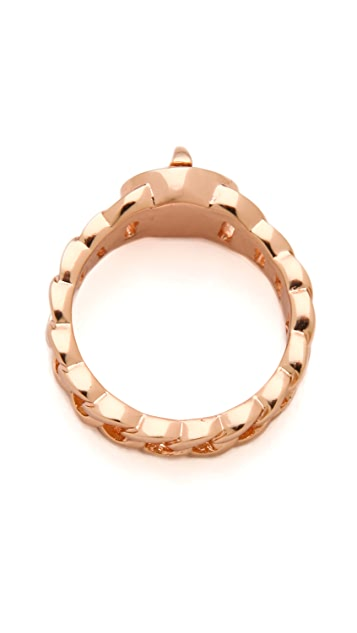 Marc by Marc Jacobs Small Turnlock Katie Ring
