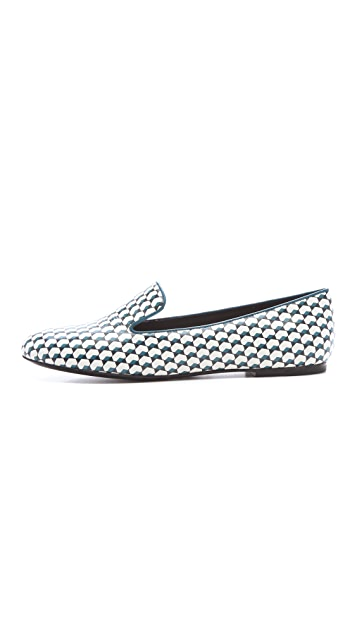 Marc by Marc Jacobs Printed Smoking Slippers