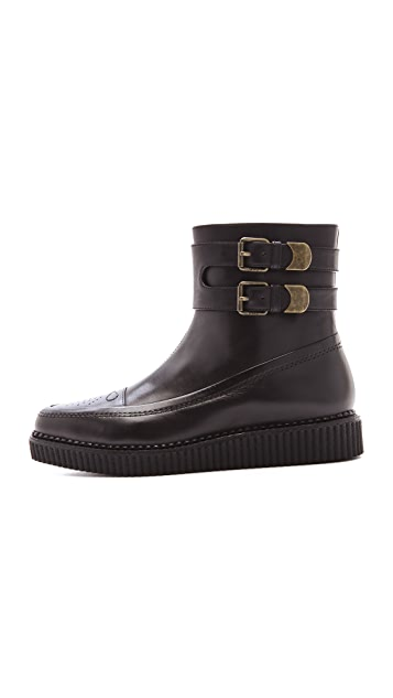 Marc by Marc Jacobs Creeper Ankle Booties