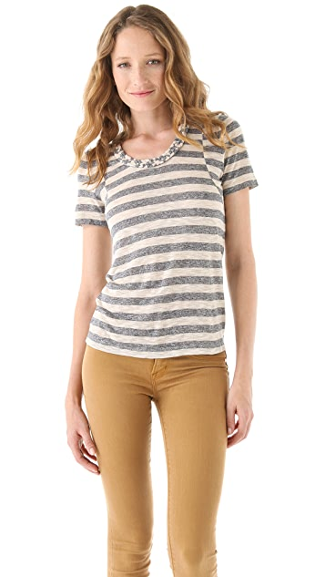 Marc by Marc Jacobs Pebble Stripe Top