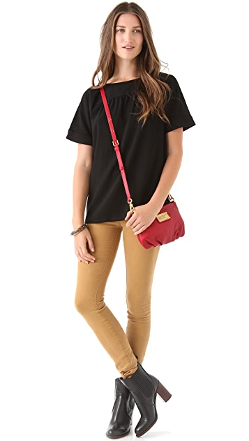 Marc by Marc Jacobs Milla Crepe Top