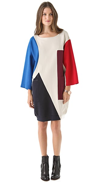 Marc by Marc Jacobs Constructivist Colorblock Dress