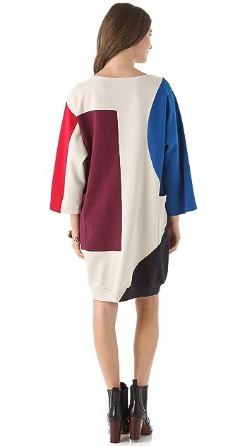 Marc by Marc Jacobs Constructivist Colorblock Dress