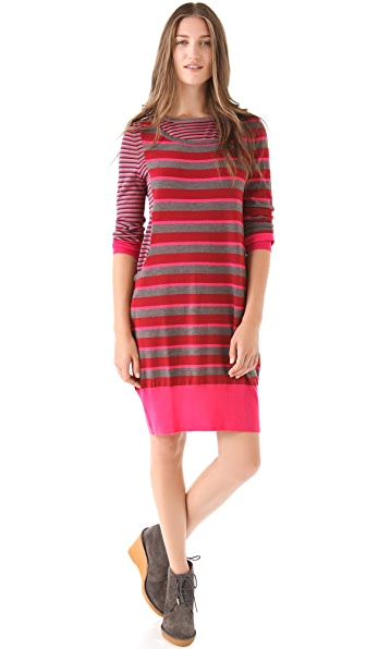 Marc by Marc Jacobs Yaani Stripe Sweater Dress