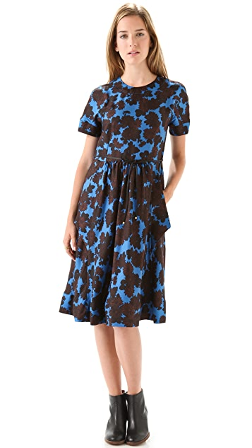 Marc by Marc Jacobs Onyx Floral Dress