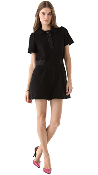 Marc by Marc Jacobs Blythe Double Wool Romper