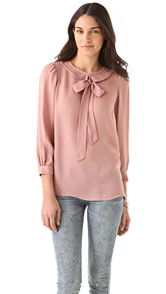 Marc by Marc Jacobs Evie Silk Blouse