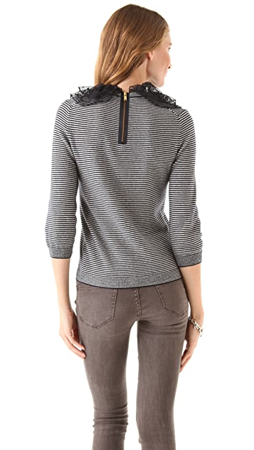 Marc by Marc Jacobs Sonia Striped Cashmere Sweater