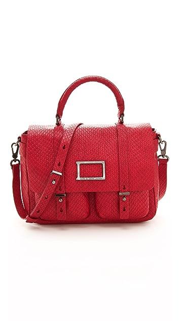 Marc by Marc Jacobs Werdie Snake Top Handle Messenger Bag