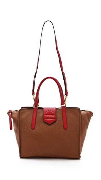 Marc by Marc Jacobs Flipping Out Colorblocked Tote